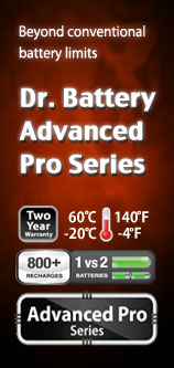 Dr. Battery Advanced Pro Series Batteries